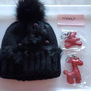@new@ warm hat, women